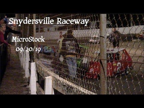 Snydersville Raceway - MicroStock (09/20/19)