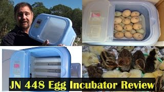 JN 448 Egg Incubator Review & Testing Another Cheap Chinese Unit