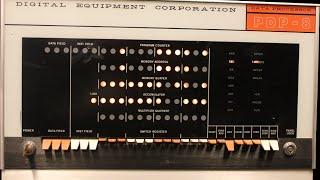 PDP-8 s/n 351 restoration - part 1