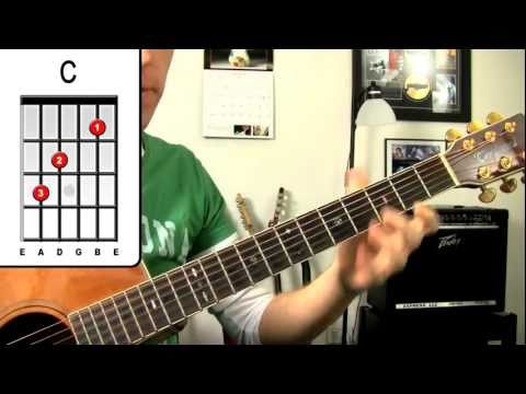 Out Of My Head ★ Fastball Guitar Lesson - How To Play Easy Beginners Chord Strumming ...