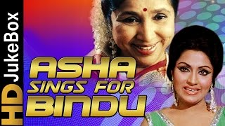 Hits of Bindu | Asha Bhosle Best Songs | Hindi Songs