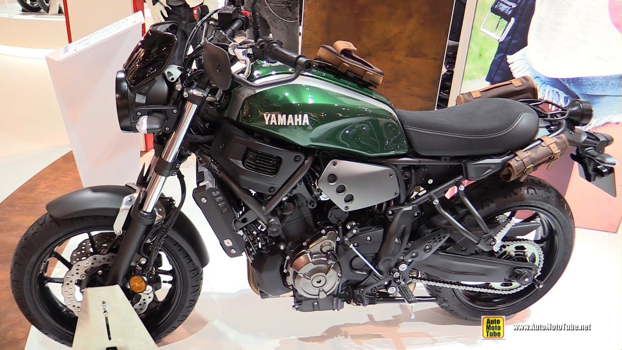2016 yamaha xsr700 abs walkaround debut at 2015 eicma. Black Bedroom Furniture Sets. Home Design Ideas