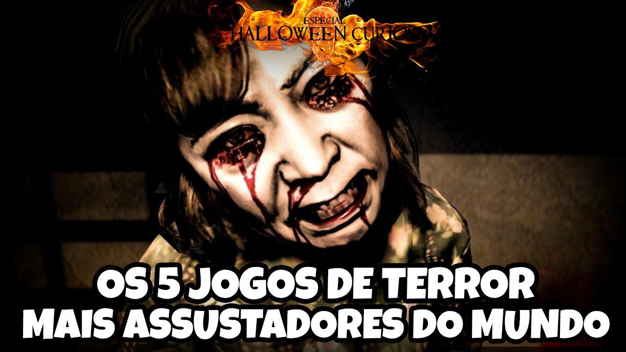 Os 5 Jogos de Terror mais assustadores do mundo