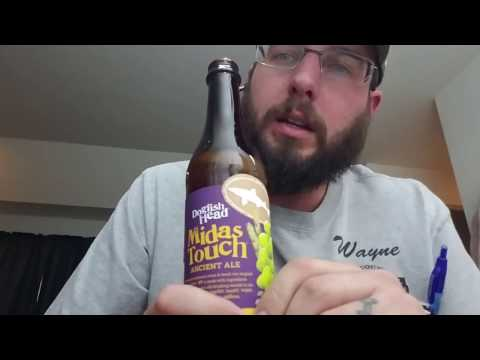 DogFish Head Midas Touch Beer Review