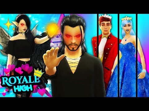 😈🔥DARK FAIRY MALTY TAKES OVER ROYALE HIGH AS KING?!👑🏰 The Sims 4 Royal High School #12