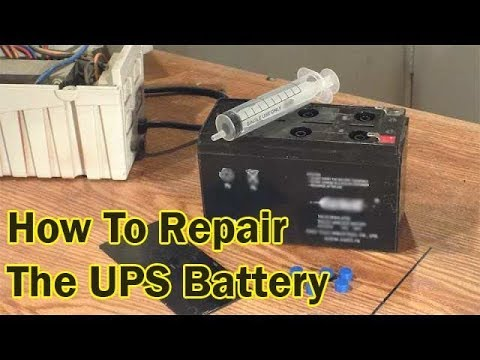 How To Repair An UPS Battery