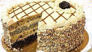 Торт 'ДАМСКИЙ КАПРИЗ' Вкусный домашний торт на сметане.