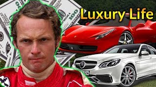 Niki Lauda Luxury Lifestyle | Bio, Family, Net worth, Earning, House, Cars