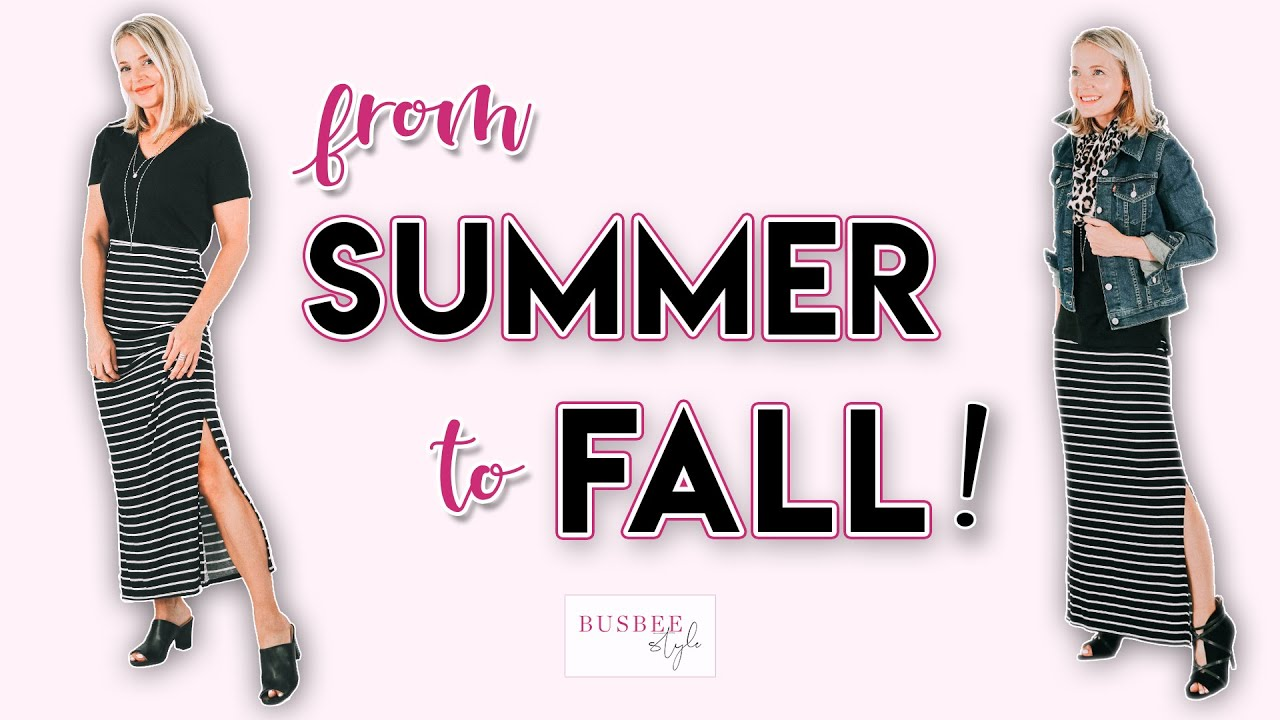 How To Transition Your Wardrobe From Summer To Fall 2