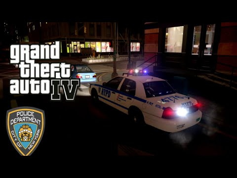 GTA IV - LCPDFR - NYPD Shootout!! No Commentary