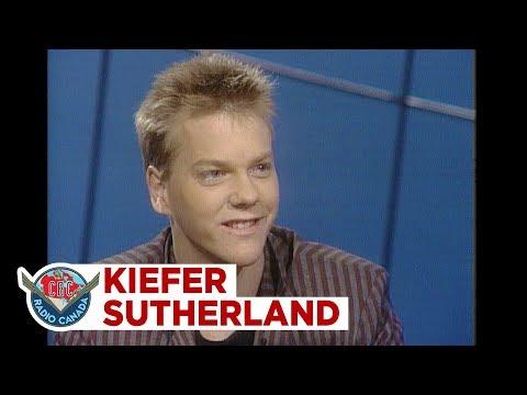 Kiefer Sutherland, way before he became Jack Bauer, 1985