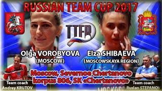 Завершающая игра Командного Кубка России Ольга Воробьёва - Эльза Шибаева