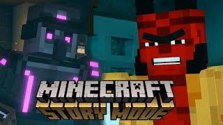 ТЮРЬМА В МАЙНКРАФТЕ! - Minecraft: Story Mode Season 2 #7
