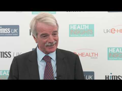 Professor Sir Malcolm Grant, Chair, NHS England at UK e-Health Week 2016