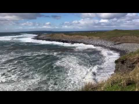Wild Atlantic Way near Cliffs of Moher