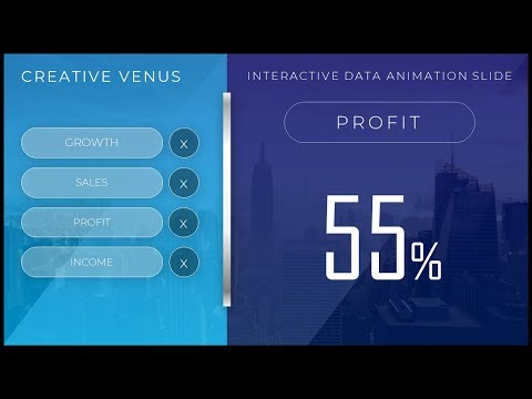 How To Create Interactive Animation Corporate Presentation Slide in Microsoft PowerPoint PPT