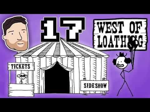 West of Loathing (Hard Mode) - PART 17: A Clown Hive | Graeme Games | The Circus