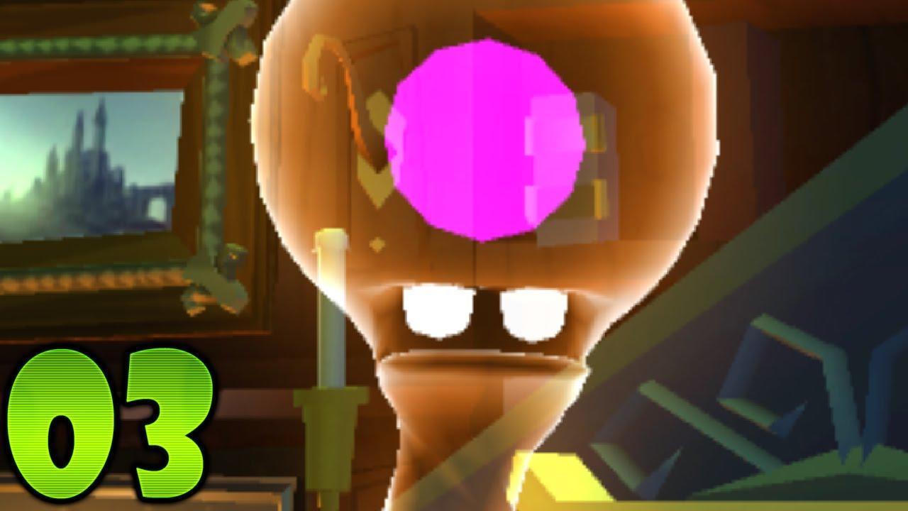 Luigi S Mansion Dark Moon Part 3 Gloomy Manor A 3 Quiet Please