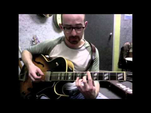 Stardust Solo Jazz Guitar Arrangement and Tutorial by  Adrian Whyte