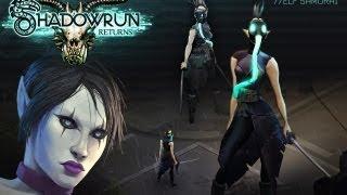 #1 Краткий обзор INDIE игры - Shadowrun Returns