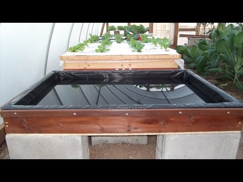 Building New Boxes for Hydroponic Growing