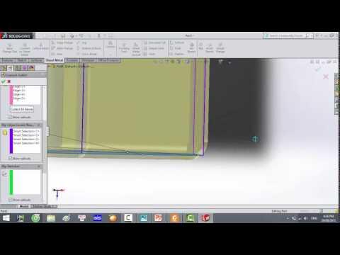 Hướng dẫn sử dụng Sheet Metal trên Solidworks (Base flange/tab , Convert to sheet metal)