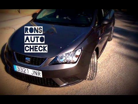 Seat Ibiza Style 2016 Ertfahrung und Test Bericht TSI Motor mit 90PS Ausstattung