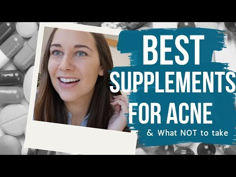 Acne Supplements For Clear Skin + WHAT NOT TO TAKE!!! (Supported With Scientific Studies)