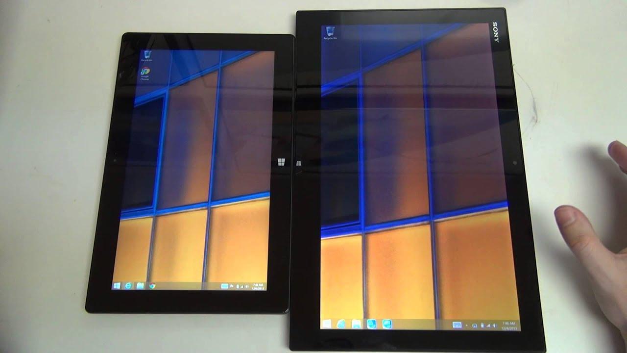 Microsoft Surface or Sony Vaio?