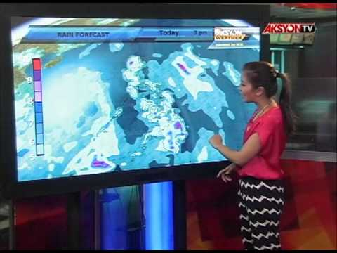 Weather Forecast: A rainy day today | Aksyon Weather | July 15, 2013