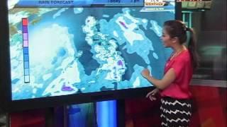 Weather Forecast: A rainy day today   Aksyon Weather   July 15, 2013