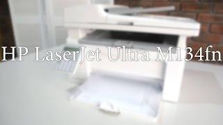 Обзор МФУ HP LaserJet Ultra M134fn