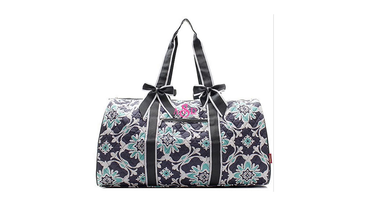 9a8bfe0c909 Personalized Quilted Bags - Monogrammed | Embroidered