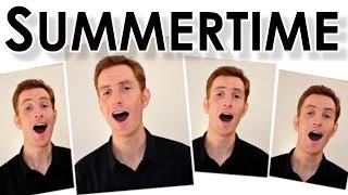 Summertime (Gershwin) - Barbershop Quartet A Cappella - Julien Neel