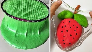 Most Relaxing Slime Compilation ASMR Oddly Satisfying Video