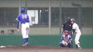 2014/4/28 広島国際学院大・宮崎敦次投手の投球