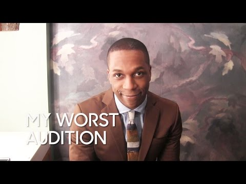 My Worst Audition: Leslie Odom Jr.