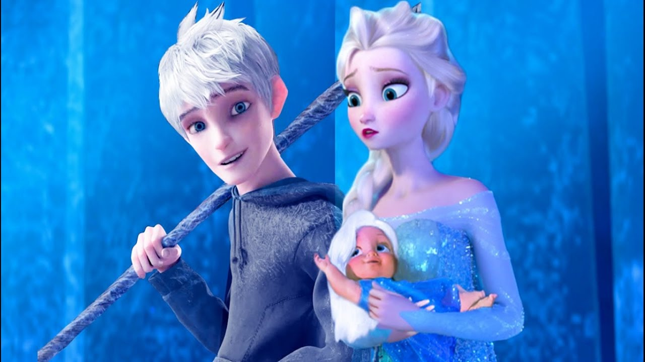 Elsa and Jack Frost - yiv.Com - Free Mobile Games Online
