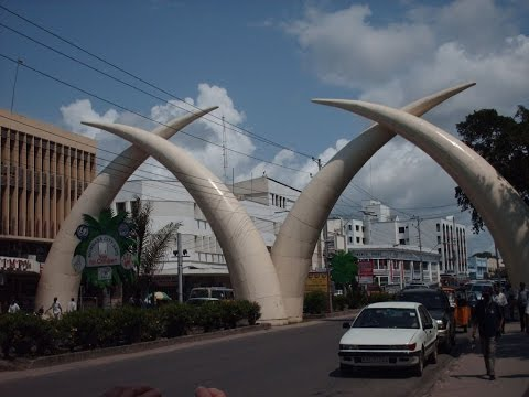 Mombasa City,  Kenya's main tourist destination, Indian Ocea