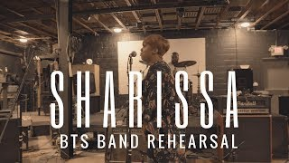 BTS WITH SHARISSA GEARING UP FOR UPCOMING PERFORMANCES WITH HER BAND