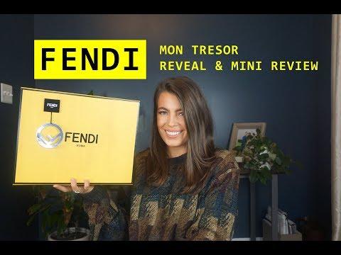 WHAT I GOT FOR CHRISTMAS | FENDI MON TRESOR BAG REVEAL & REVIEW