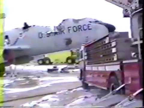 KC-135E Fire at Pease AFB January 1990