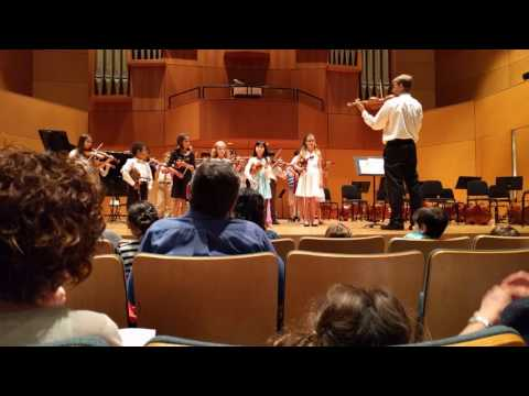 Chinja's group performance at the Music Settlement year end concert