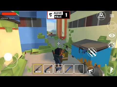 Grand Battle Royale: Pixel War. IOS Gameplay. Launch Video.