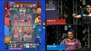 [FINAL] DIEGO VS ASUCHINI | Clash Royale Super Magical Open Play 2018