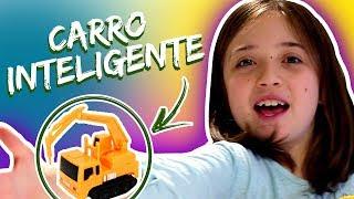 CARRO SUPER INTELIGENTE !?? | Brincadeiras da Luli | Unboxing de Brinquedo: Inductive Truck