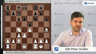Caruana-So, Svidler's Norway Chess 2018 Game of the Day