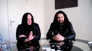 SINSAENUM's Joey Jordison & Frederic on 'Echoes Of The Tortured', Songwriting &  Future (2016)