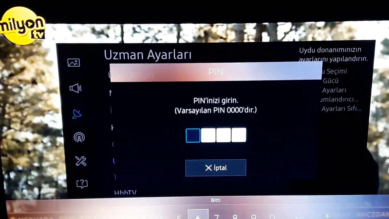 SAMSUNG 55 UHD 7 SERIES SİNYAL YOK ARIZASI ÇÖZÜMÜ - DETAYLI ANLATIM