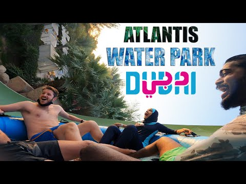 Exploring Our Dream water Park Aquaventure The Lost Chambers Aquarium-Palm-Dubai| English Subtitle|